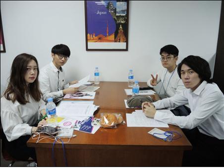 한국 대학생 디베이트 대회 출전한 서경대 팀.jpg